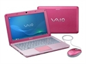 Picture of Sony VAIO W Series VPC-W12S1E Netbook Pink